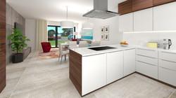 Borek RD Klasik kuchyň