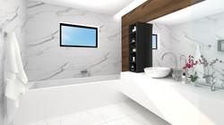 Borek RD Komfort interiér koupelna