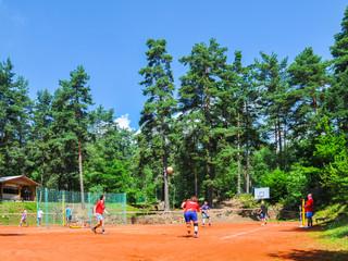 Volejbalové hřiště - Kodetka, Hlincová Hora, České Budějovice