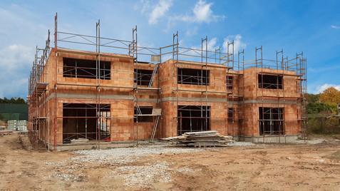 Další dům LUX KOMFORT je připraven na stropy druhého nadzemního podlaží