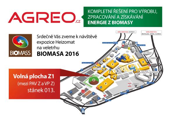 Pozvánka na veletrh BIOMASA 2016 3.-7.4. 2016