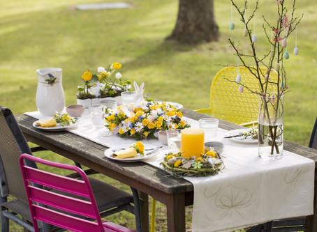 Oslavte Velikonoce krásnou slavnostní tabulí