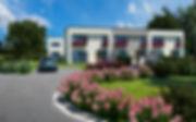 Borek, České Budějovice, rodinný, dům, komfort, vila, bydlení, prodej, novostavba, byt, moderní, exteriér, ulice, silnice