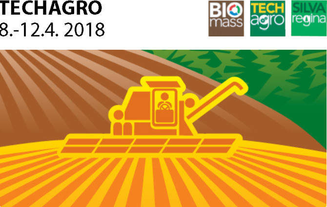 Pozvánka na veletrh TECHAGRO 8.-12.4. 2018