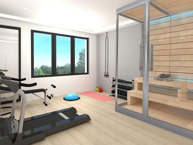 Borek RD Komfort wellness pokoj