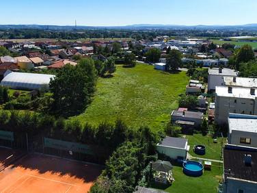 Pozemek pro stavbu RD Borek  pohled na České Budějovice
