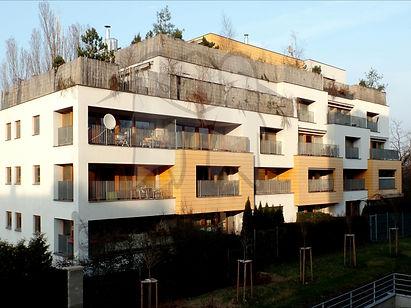Veleslavín, byty, U Zámečku, moderní,  bytový dům