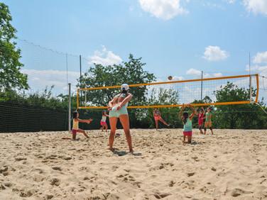 Plážový volejbal - Kodetka, Hlincová Hora, České Budějovice