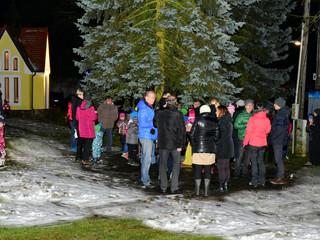 Rozsvícení vánočního stromu - Kodetka, Hlincová Hora, České Budějovice