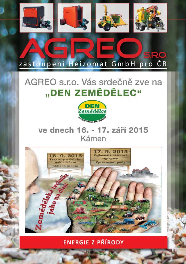 """Pozvánka na """"Den Zemědělec"""" 2015"""