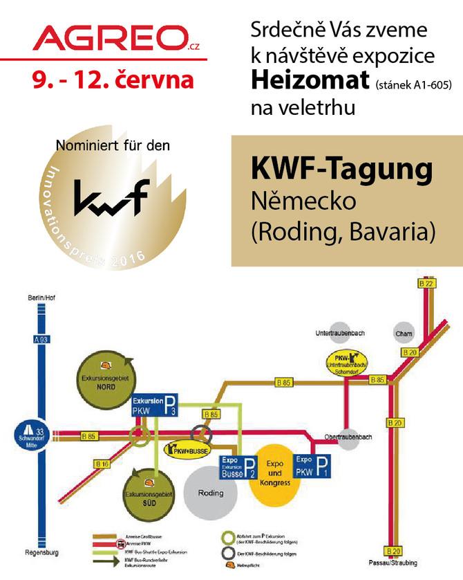 KWF-Tagung 9. - 12. června 2016 Roding, Německo