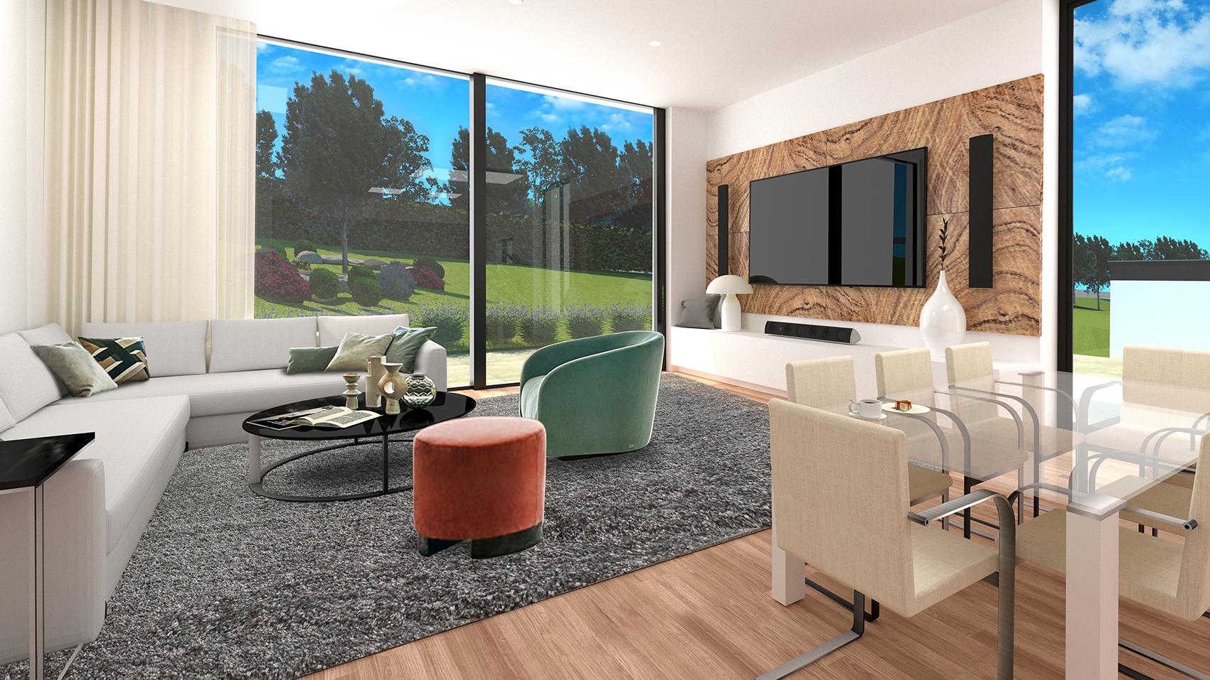Vila LUX I Obývací pokoj