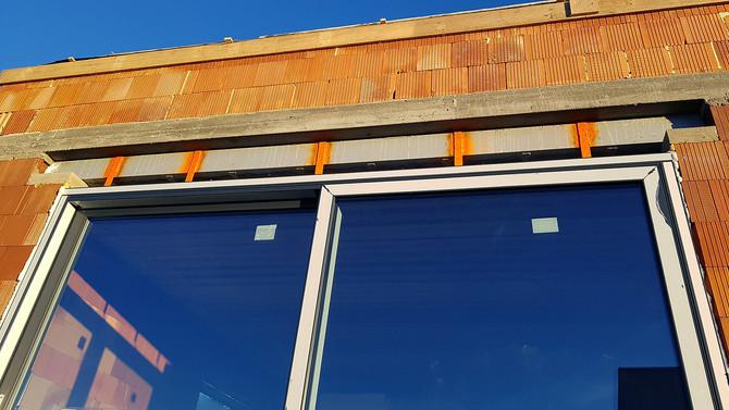 Vila Prospectus byla osazena okny