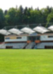 Borek, České Budějovice, hřiště, sportovní, areál, fotbal, fotbalový, tribuna, sport, zábava, vyžití