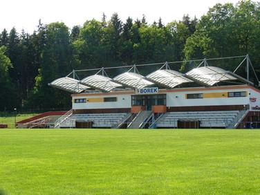 Fotbalové hřiště Borek