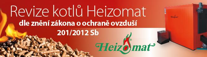 Revize kotlů Heizomat dle znění zákona o ochraně ovzduší 201/2012 Sb.