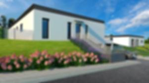 Vizualizace bungalov Smart I LUX Kodetka