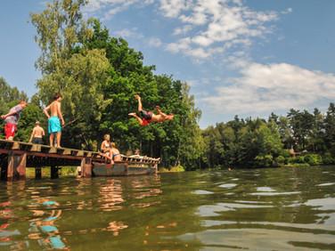 Jezero Mrhal - Kodetka, Hlincová Hora, České Budějovice