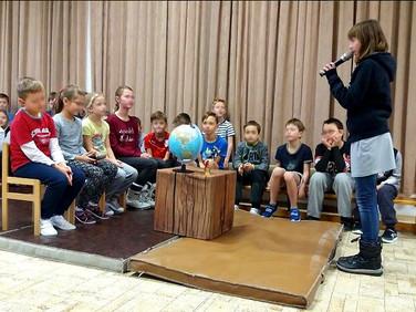 Děti z Základní školy Borek