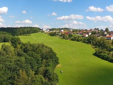 Místo pro III. etapu - Kodetka, Hlincová Hora, České Budějovice