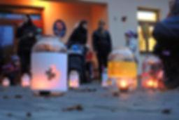 Kodetka, Hlincová Hora, České Budějovice, kultura, zábava, děti, dětská, školka, MŠ, lampionový, průvod, lampion, podzim, halloween