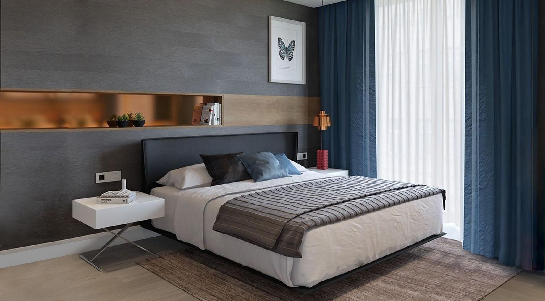 Borek RD Komfort interiér ložnice