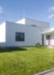 Kodetka, Hlincová, Hora, architektura, moderní, funkcionalismus, bydlení, dům, stavba, vila, plochá, střecha