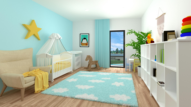 Vila LUX I dětský pokoj
