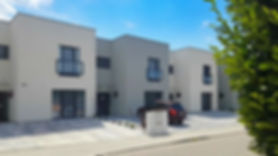Strakonice, rodinný, dům, moderní, plochá střecha, býdlení