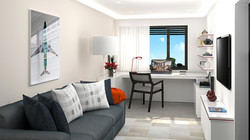 Borek RD Komfort interiér pracovna