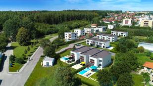 1.7.2020 byla zahájena výstavba rodinných domů Komfort a Klasik