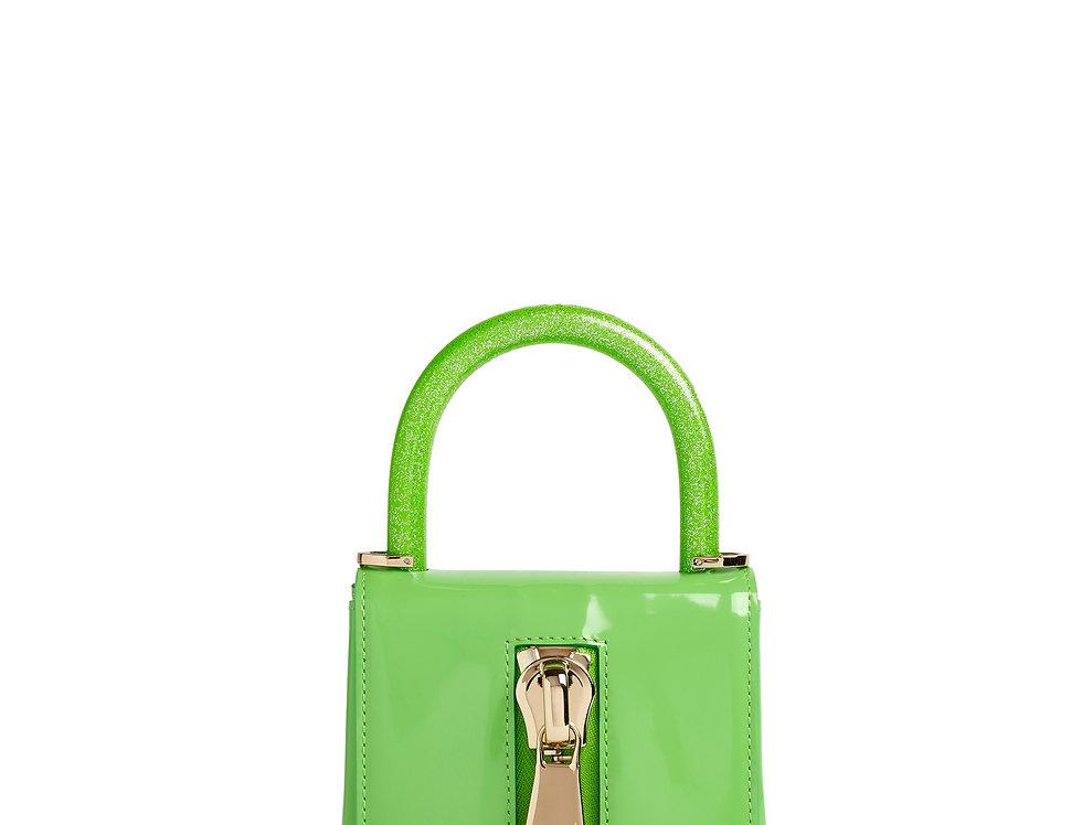 mini borsa verde