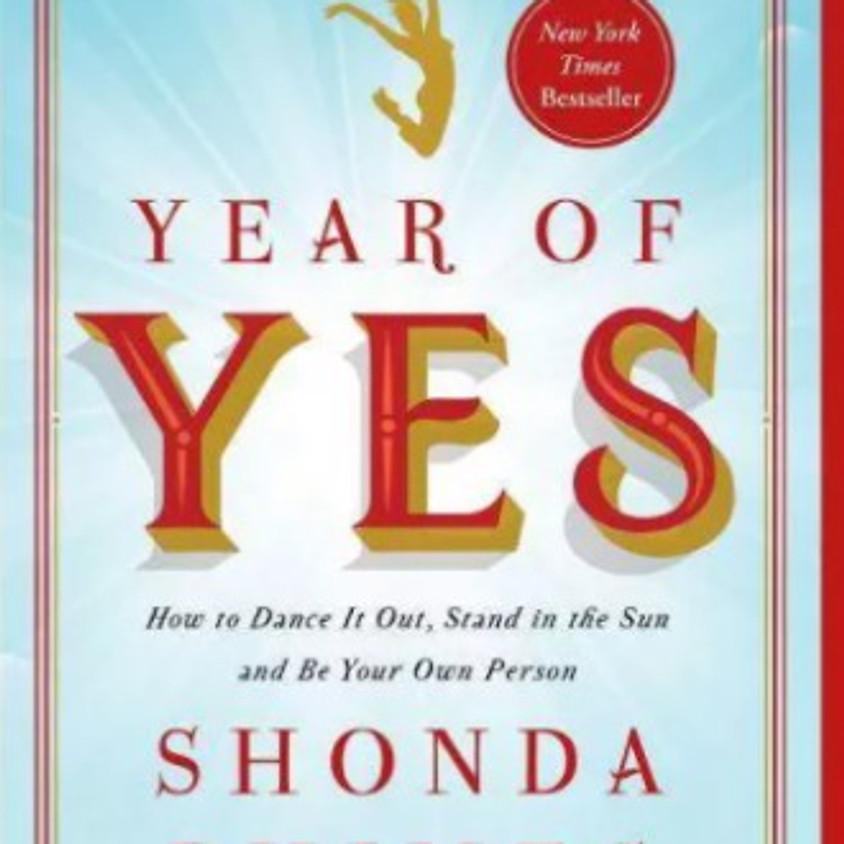 January Virtual Book Club – Year of Yes by Shonda Rhimes