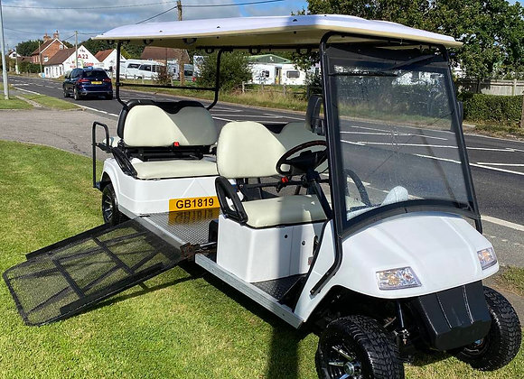 Cushman Shuttle 8 Electric Disabled  utility vehicle