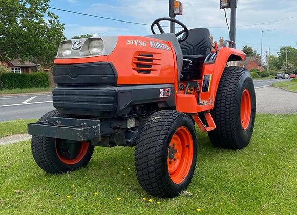 Kubota STV36 4 wheel drive compact tractor