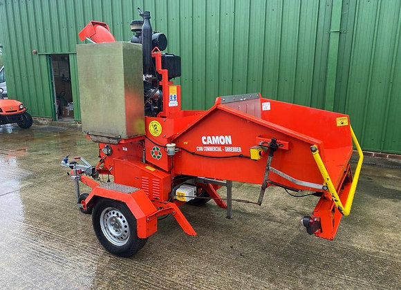 Camon C300 Commercial Shredder on a road chassis