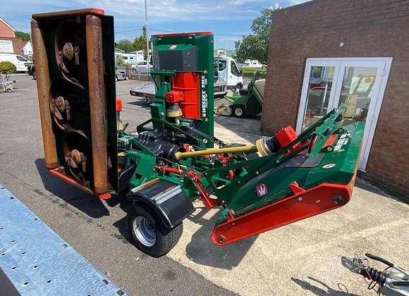 Wessex RMX500 Tri-Deck Roller rotary mower