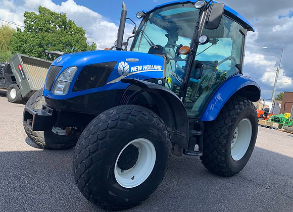 New Holland T4.75 4-Wheel Drive Tractor c/w Turf Tyres