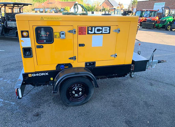 JCB G40RX Trailed Cabinet Generator
