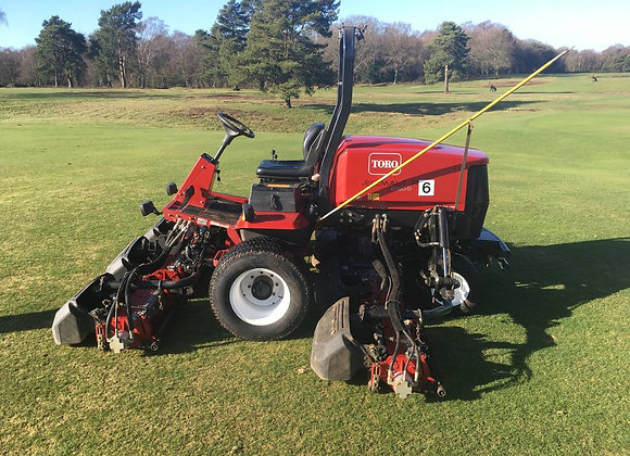 Toro Reelmaster 6700-D 4WD, 7-Unit fairway mower