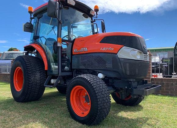Kubota L5740 Compact Tractor c/w Cab & Turf Tyres