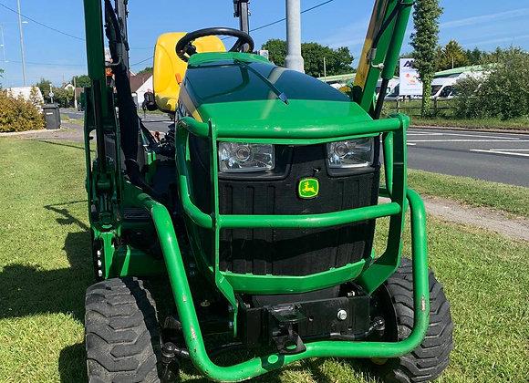 John Deere 1026R Compact Tractor c/w Loader