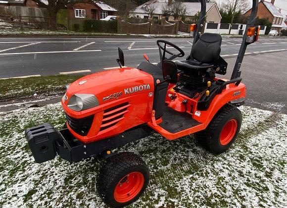 Kubota BX2350 4 wheel drive compact tractor