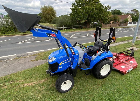 New Holland Boomer 25 Compact Tractor c/w Loader