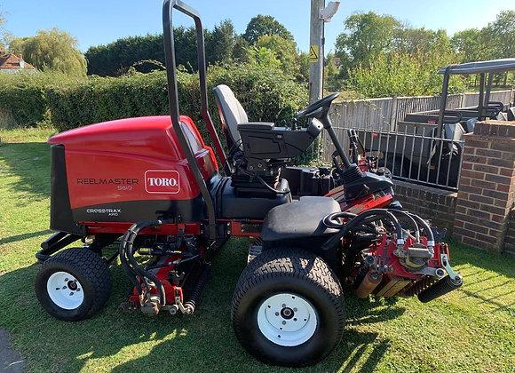 Toro Reelmaster 5610-D 4-WD 5- unit cylinder mower