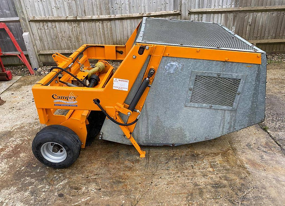Sisis Litamina HT Brush sweeper c/w high tip collector