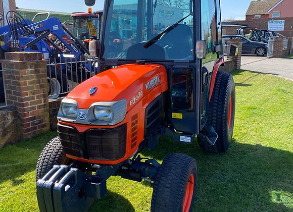 Kubota B3030HC Compact Tractor c/w cab and Air Con