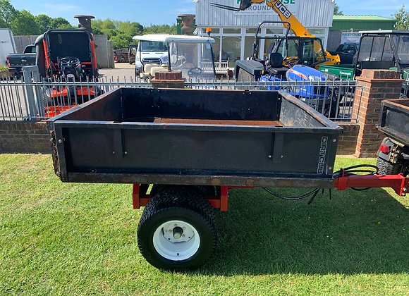 Dirt Cub Trailer with Floating axle and tipping body