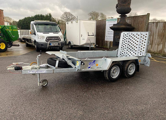 Ifor Williams GH94BT twin axle plant trailer