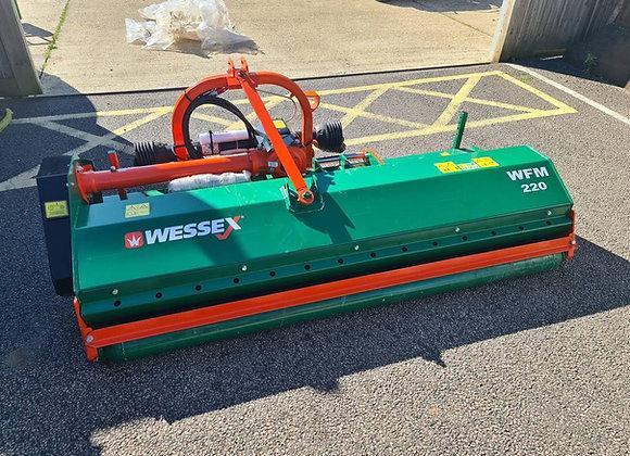 Wessex WFM-220 Tractor flail mower c/w Hydraulic Side Shift